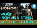 For Honor - wood, iron, and steel - Observables + Breakables Locations