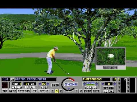 Links: The Challenge of Golf (PC/DOS) +Addon Courses Demo, 1990, Access