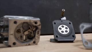 ouvrir un carburateur de tronçonneuse, taille haie, débroussailleuse