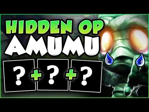YOU WONT BELIEVE HOW OP THIS SECRET AMUMU TOP BUILD IS AMUMU TOP GAMEPLAY - League of Legends
