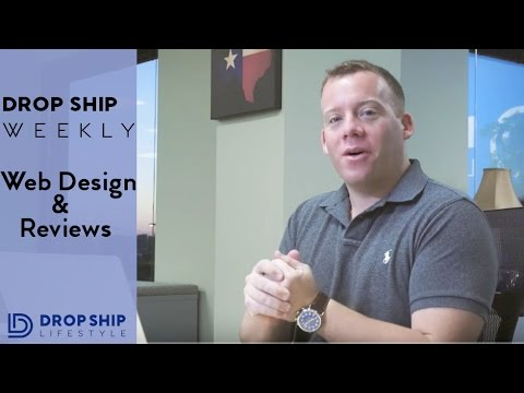 Drop Shipping Web Design + Reviews | Drop Ship Weekly 7
