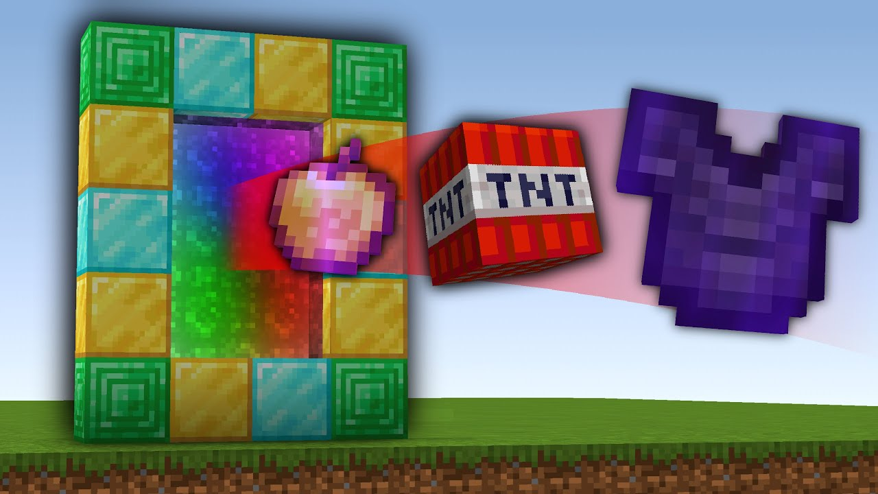 Download Minecraft, But You Can Upgrade Portals...