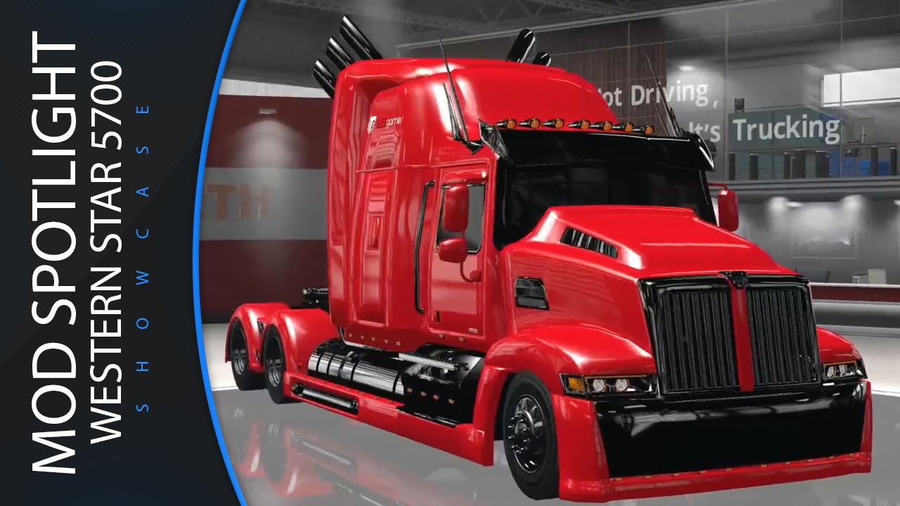 American Truck Simulator Western Star 5700 Optimus Prime Mod Spotlight Showcase Review Ats You