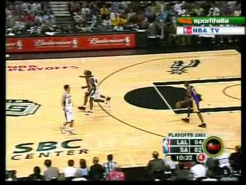 Kobe Bryant 36 points vs Spurs WCSF Game 5 2002-03 *Horry