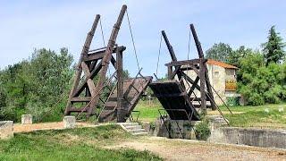 Http://videoturysta.eu[en] the langlois bridge (pont van gogh, pont langlois, gogh bridge) at arles was subject of paintings created in 1888 by vince...