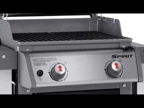 weber spirit e 210 liquid propane gas grill youtube. Black Bedroom Furniture Sets. Home Design Ideas