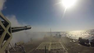 SM-2 Missile Live Fire With a Purpose (LFWAP) event