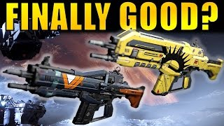 Destiny: are Auto Rifles FINALLY GOOD?