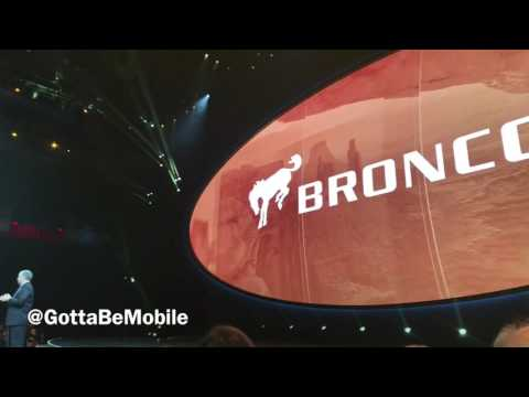 Ford Reveals New Bronco