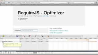 RequireJS - Optimizer