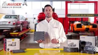 HARDEX® Premium Brake Pads Linings & Blocks