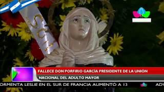 Fallece don Porfirio García, presidente de la Unión Nacional del Adulto Mayor