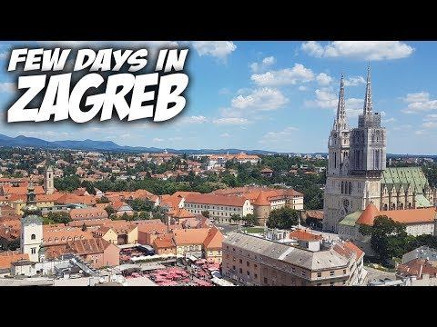 Few days in Zagreb (Croatia) | Travel Vlog #47