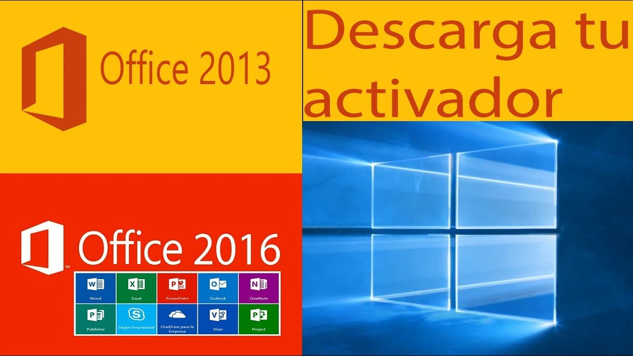 Como activar windows 10 y office 2013 y  2016…
