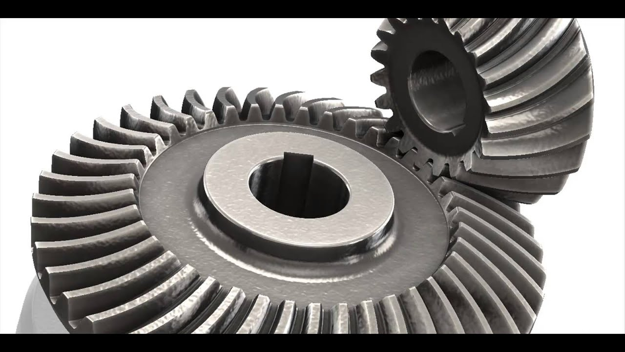 Bevel Gear Animation : Bevel gears youtube