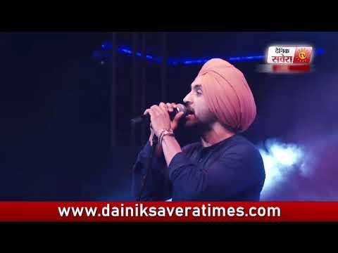Diljit Dosanjh Live Performance : Song,  Pagg Wala Munda
