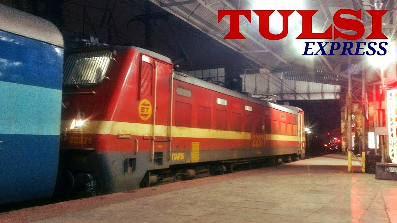 ROUTE DIVERTED TRAIN - 22129 Mumbai LTT - Allahabad TULSI SF Express | PUNE  JUNCTION