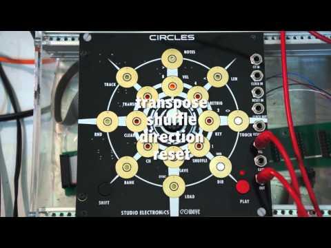 Studio Electronics Circles sequencer preview