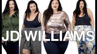 Video PLUS SIZE FASHION TRY ON HAUL | New (to me) Brand! JD WILLIAMS! | Sometimes Glam download MP3, 3GP, MP4, WEBM, AVI, FLV Oktober 2017