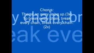 Tasha Cobbs - Break Every Chain (Lyrics)