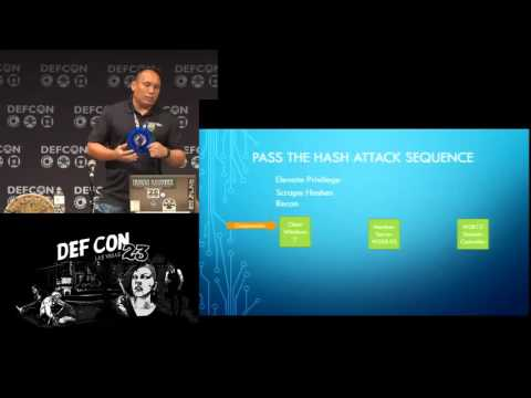 DEF CON 23 - Gerard Laygui - Forensic Artifacts From a Pass the Hash Attack