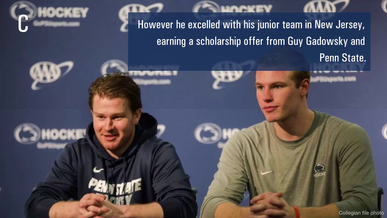 the best attitude e0965 655e5 Through thick and thin, Penn State men s hockey s Chris Funkey made it, and  he couldn t be happier   Penn State Ice Hockey News   Daily Collegian ...