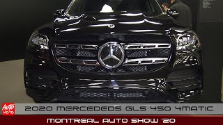 2020 Mercedes GLS 450 4Matic - Exterior And Interior - Montreal Auto Show 2020