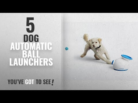 Top 10 Dog Automatic Ball Launchers [2018 Best Sellers]: iFetch Interactive Ball Launcher for Dogs