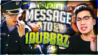 MESSAGE TO IDUBBBZ THE CONTENT COP