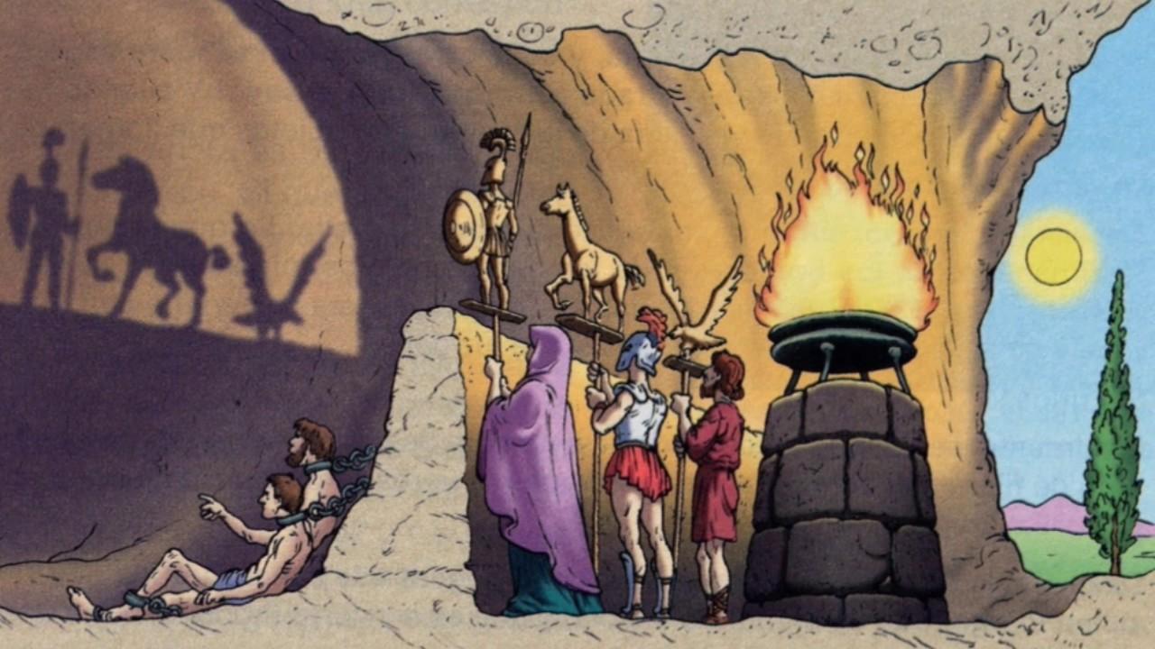 El Mito De La Caverna De Platón Youtube