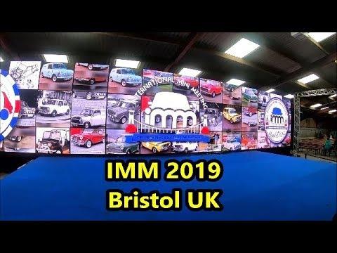 International Mini Meet IMM 2019 Bristol UK - Classic & Modern MINI