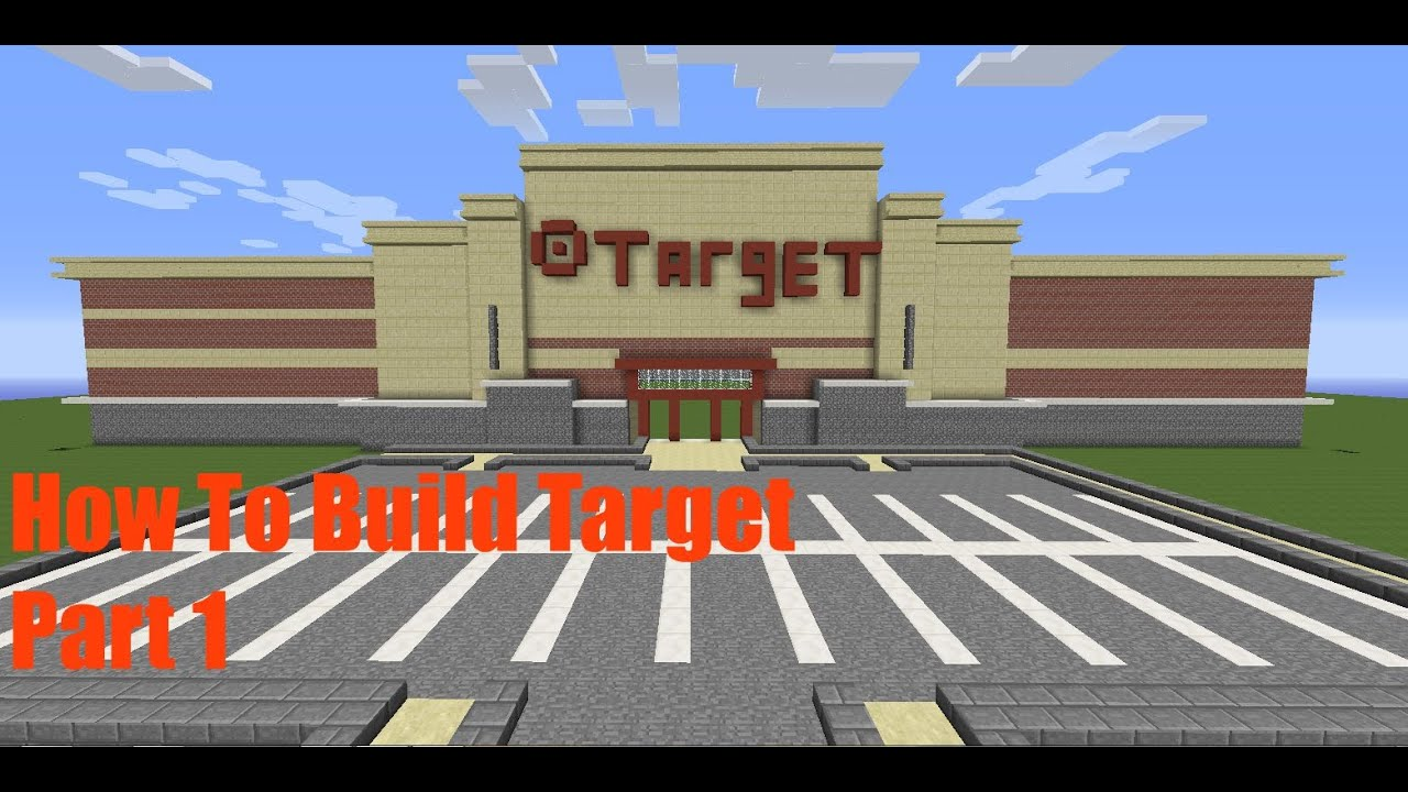 Minecraft How To Build Target Part 1
