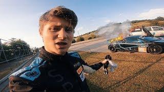 Mein Auto brennt (während ich fahre)