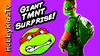 TMNT Biggest Surprise Van full of toys! More TMNT: https://www.yout...