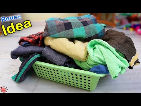 Old Clothes !! 6 Reuse Idea Out of Waste Clothes    Doormat Making at Home    DIY Craft