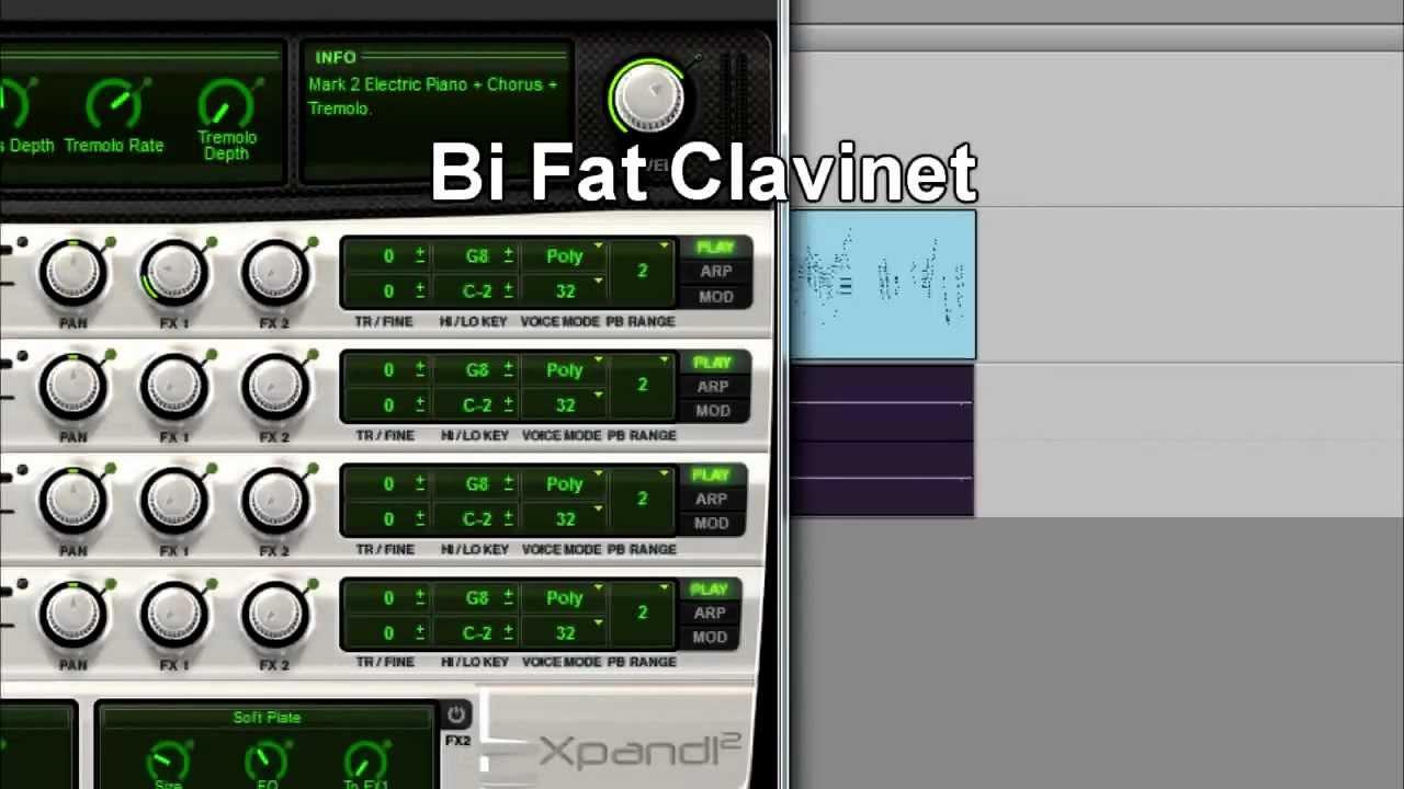 Xpand!2 sounds - Part 14 - E Pianos + Clavi