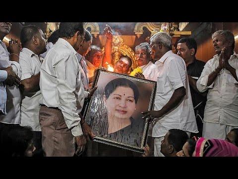 India mourns prominent politician Jayaram Jayalalithaa