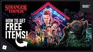 How to get the Stranger Things Items & Promocodes on Roblox!