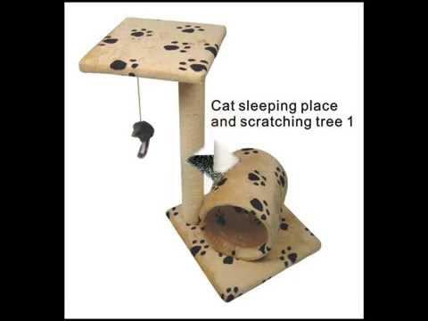 Đồ chơi cho mèo cào móng