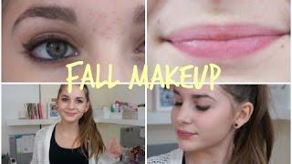 Fall Makeup │Brown eyes Red lips Thumbnail