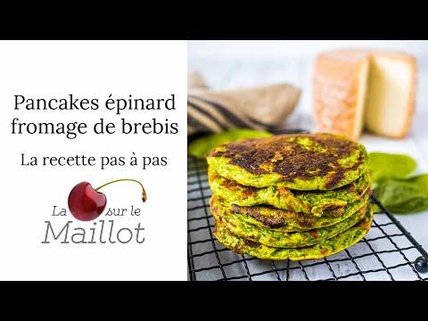 pancakes-salés-épinard-brebis