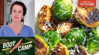 Rescuing Vegetables from Mediocrity–Smashed, Shredded, Charred, and More   Test Kitchen Boot Camp