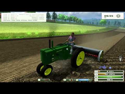 Farming Simulator 2013 19ч - John Deere за работой