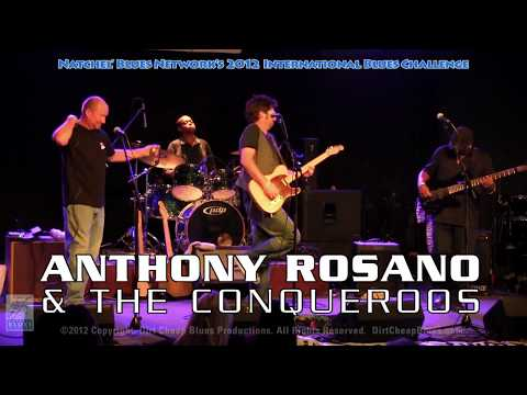 Anthony Rosano & The Conqueroos IBC 2012 Concert