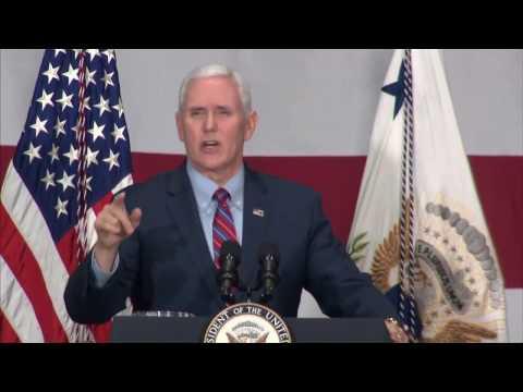 VP Mike Pence visits Reynoldsburg business