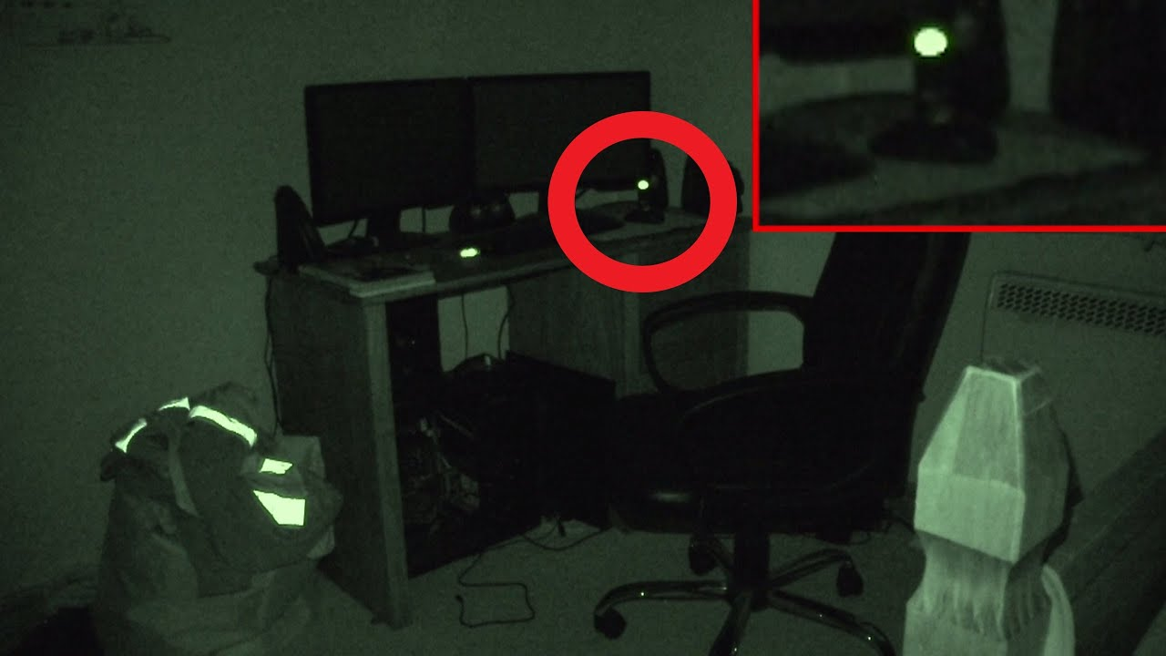 Ghost Caught At My Desk  Real Paranormal Activity Part 24