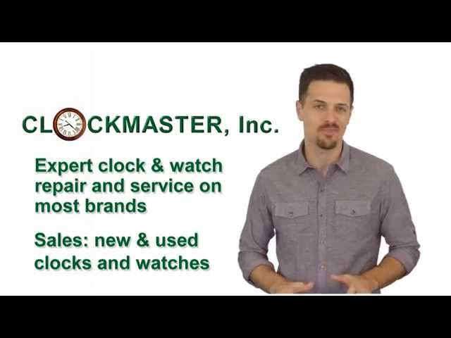 St Louis Clock Repair Shop Review | Watch Repair Shop Clockmaster Inc 877-437-1774