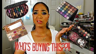 NO BUY LIST + UNREVIEW ★ New Eyeshadow Palette RELEASES ★ I AIN'T GONNA BUY IT!  -- Episode 4