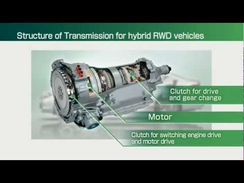 Фото к видео: JATCO - Mechanism of a transmission for a hybrid FR vehicle