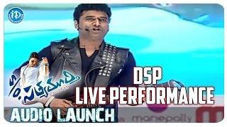 Devi Sri Prasad Live Performance | S/o Satyamurthy Movie Audio Launch | Allu Arjun | Samantha
